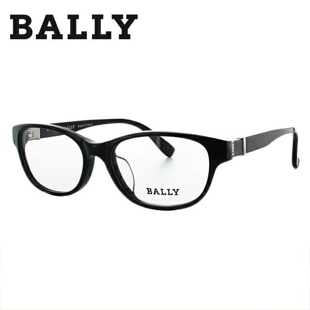 バリー BALLY 伊達メガネ 眼鏡 メンズ レディース 黒縁 黒ぶち BY1007J 00 52サイズ