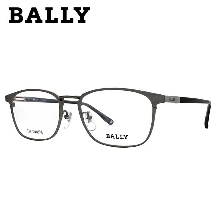 バリー 伊達メガネ 眼鏡 BALLY BY3034J 2 55サイズ 国内正規品 ウェリントン メンズ レディース
