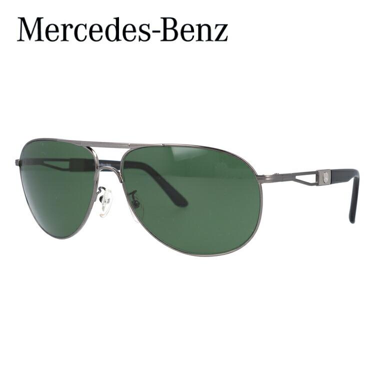 メルセデスベンツ スタイル サングラス 国内正規品 Mercedes-Benz Style MercedesBenz M5015-C-6514-140-V754-E19 ガンメタ/グリーン ティアドロップ【メンズ】UVカット UVカット