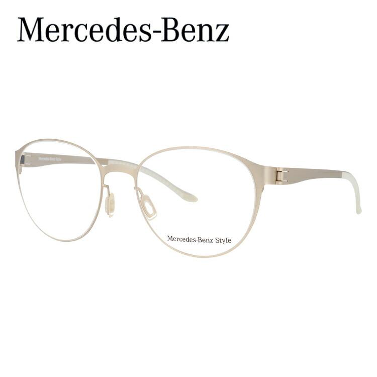 メルセデスベンツ 伊達メガネ 眼鏡 MercedesBenz M2053-C 52サイズ 国内正規品 【ボストン型】
