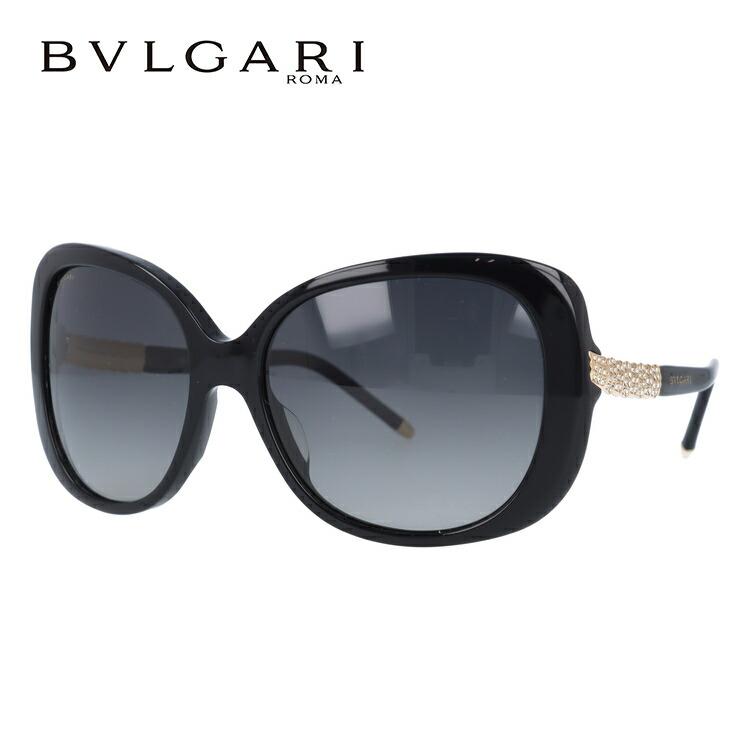 ブルガリ サングラス 国内正規品 BVLGARI BV8105BA 501/T3 59 ブラック/グレーグラデーション 偏光レンズ【レディース】 UVカット