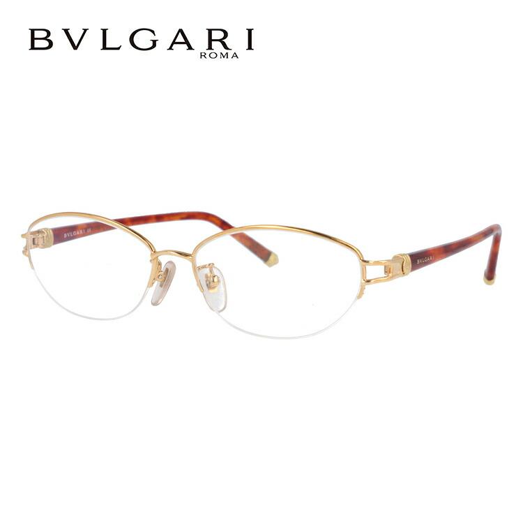 ブルガリ 眼鏡 伊達メガネ対応 BV241TK 407 54 ゴールド/ハバナ レディース 【国内正規品】