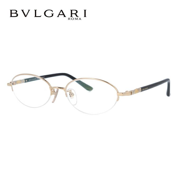 ブルガリ 眼鏡 伊達メガネ対応 国内正規品 BV269TK 401 51 ゴールド/ブラック レディース