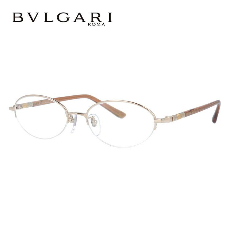 ブルガリ 眼鏡 伊達メガネ対応 BV269TK 450 51 ライトブラウン レディース 【国内正規品】