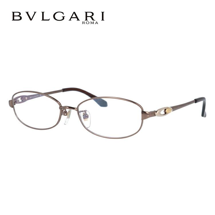 ブルガリ 眼鏡 伊達メガネ対応 国内正規品 BV2050TK 479 53 ブラウン レディース