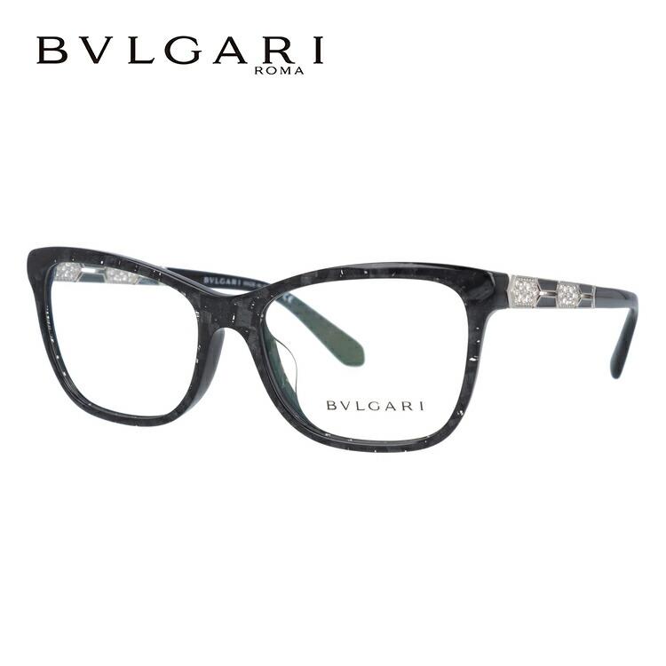 ブルガリ 伊達メガネ 眼鏡 アジアンフィット BVLGARI BV4135BF 5412 55サイズ 国内正規品 ウェリントン メンズ レディース