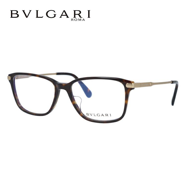 ブルガリ 伊達メガネ 眼鏡 アジアンフィット BVLGARI BV3030D 504 55サイズ 国内正規品 スクエア メンズ レディース