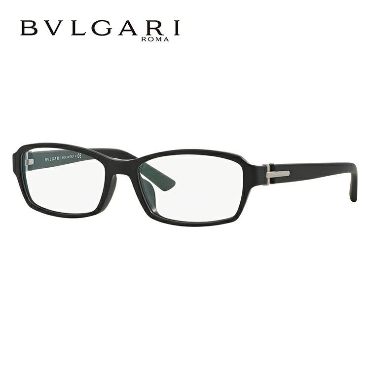 ブルガリ 伊達メガネ 眼鏡 アジアンフィット BVLGARI BV3025D 5313 56サイズ 国内正規品 スクエア メンズ レディース