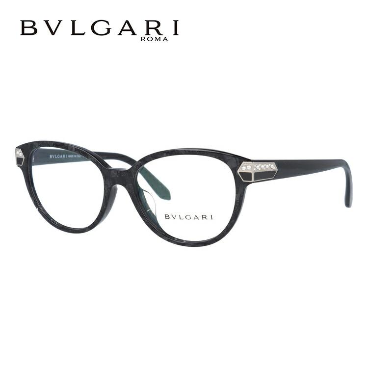 ブルガリ 伊達メガネ 眼鏡 セルペンティ アジアンフィット BVLGARI SERPENTI BV4136BF 5412 54サイズ 国内正規品 オーバル メンズ レディース