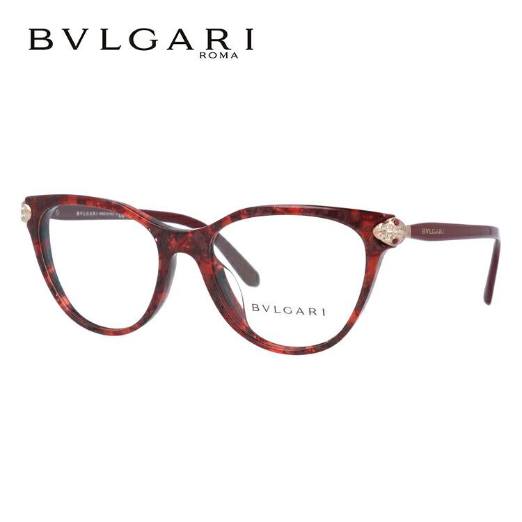 ブルガリ 伊達メガネ 眼鏡 レ ジェンメ アジアンフィット BVLGARI LE GEMME BV4156BF 5427 54サイズ 国内正規品 フォックス レディース