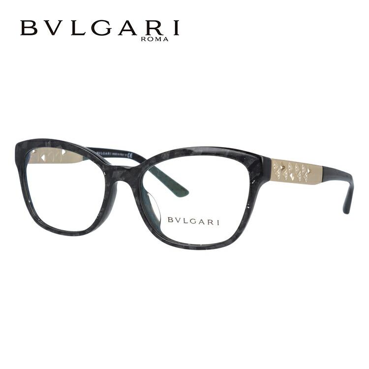 ブルガリ 伊達メガネ 眼鏡 ディーヴァ ドリーム アジアンフィット BVLGARI DIVA'S DREAM BV4153BF 5412 54サイズ 国内正規品 ウェリントン レディース
