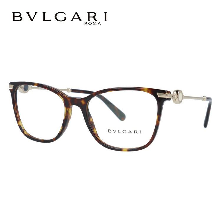 ブルガリ 伊達メガネ 眼鏡 ブルガリ ブルガリ レギュラーフィット BVLGARI BVLGARI BVLGARI BV4169 504 54サイズ 国内正規品 ウェリントン レディース