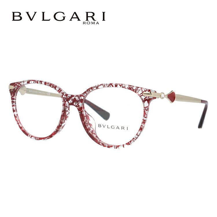 ブルガリ 伊達メガネ 眼鏡 ディーヴァ ドリーム アジアンフィット BVLGARI DIVA'S DREAM BV4143BF 5451 53サイズ 国内正規品 ウェリントン レディース