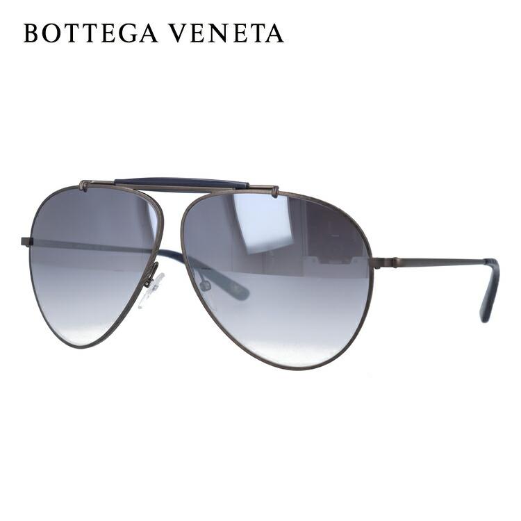 ボッテガヴェネタ BOTTEGA VENETA サングラス B.V. 159/S 62/9 GCX/IC BURNISHED ティアドロップ【レディース】【メンズ】 UVカット