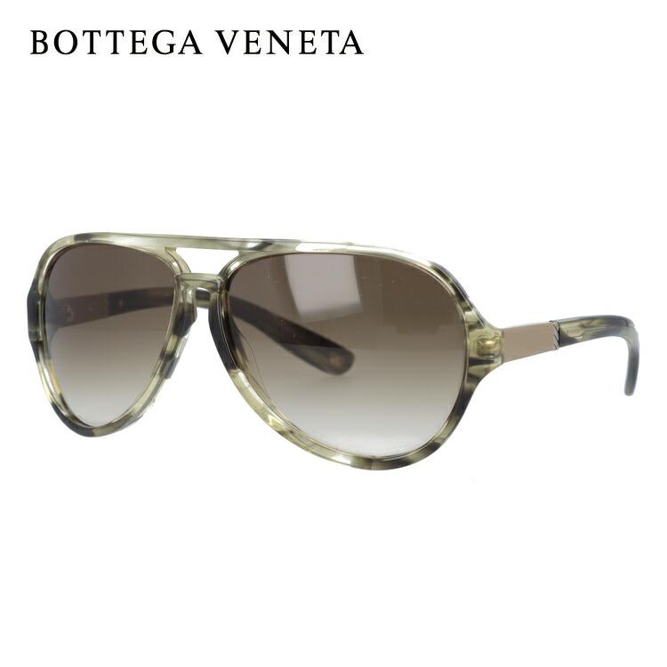 ボッテガヴェネタ BOTTEGA VENETA サングラス B.V. 184/S 59/13 0AU/DB HORN GREEN【レディース】【メンズ】 UVカット