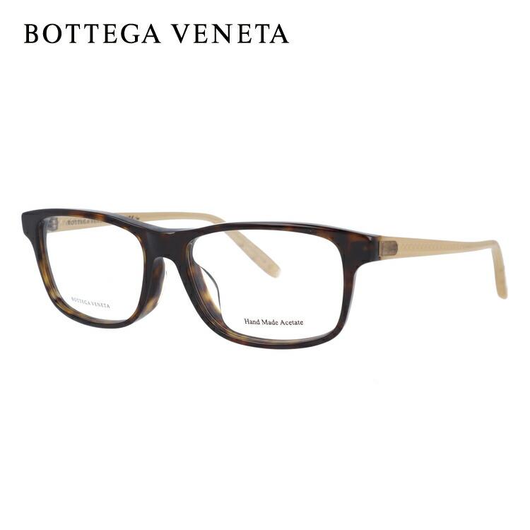 ボッテガヴェネタ 伊達メガネ 眼鏡 アジアンフィット BOTTEGA VENETA BV6026J F1H 54サイズ スクエア メンズ レディース 【スクエア型】