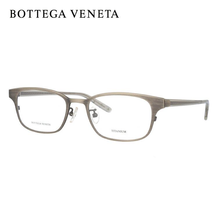 ボッテガヴェネタ 伊達メガネ 眼鏡 BOTTEGA VENETA BV6508J 5FT 52サイズ スクエア メンズ レディース 【スクエア型】