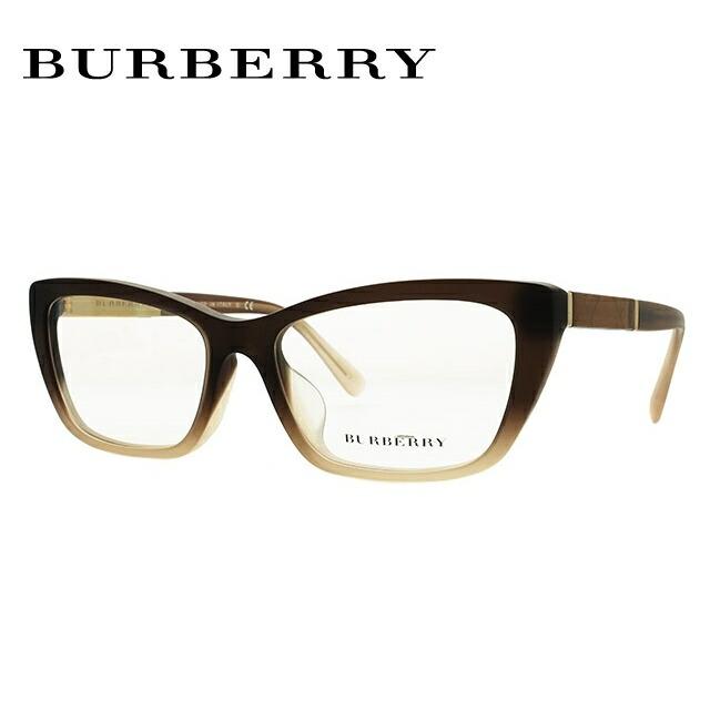 バーバリー 伊達メガネ 眼鏡 アジアンフィット BURBERRY BE2236F (B2236F) 3607 54サイズ 国内正規品 フォックス メンズ レディース