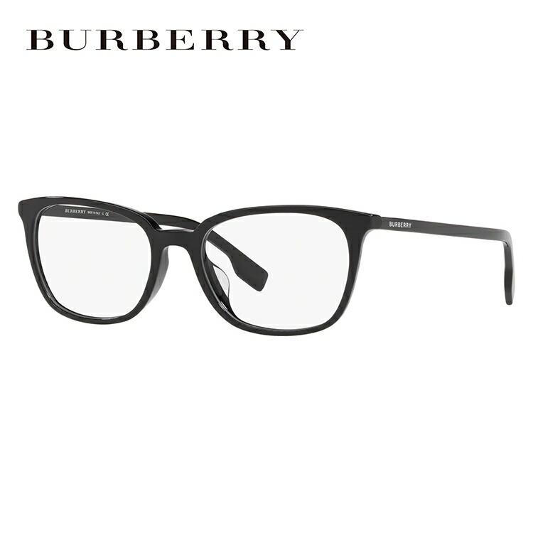 バーバリー 眼鏡 伊達メガネ 2019新作 アジアンフィット BURBERRY BE2296D 3001 54サイズ 国内正規品 ウェリントン メンズ レディース