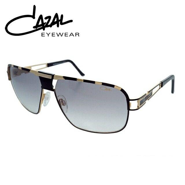 カザール サングラス CAZAL MOD.9039-001 国内正規品 ブラック&ゴールド/グレーグラデーション【レディース】【メンズ】 UVカット