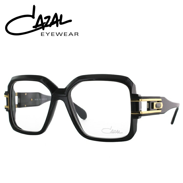 カザール CAZAL メガネ フレーム 眼鏡 度付き 度なし 伊達 メンズ レディース レジェンズ レギュラーフィット LEGENDS MOD623 001 57サイズ スクエア スクエア型 UVカット 紫外線 【国内正規品】