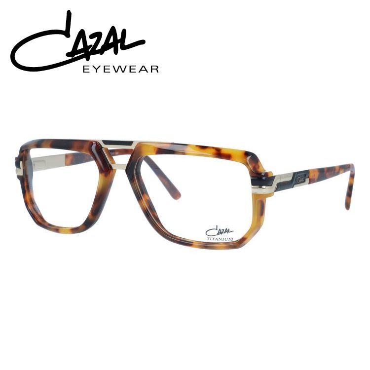 カザール 伊達メガネ 眼鏡 レギュラーフィット CAZAL MOD.6013 003 57サイズ 国内正規品 スクエア メンズ レディース