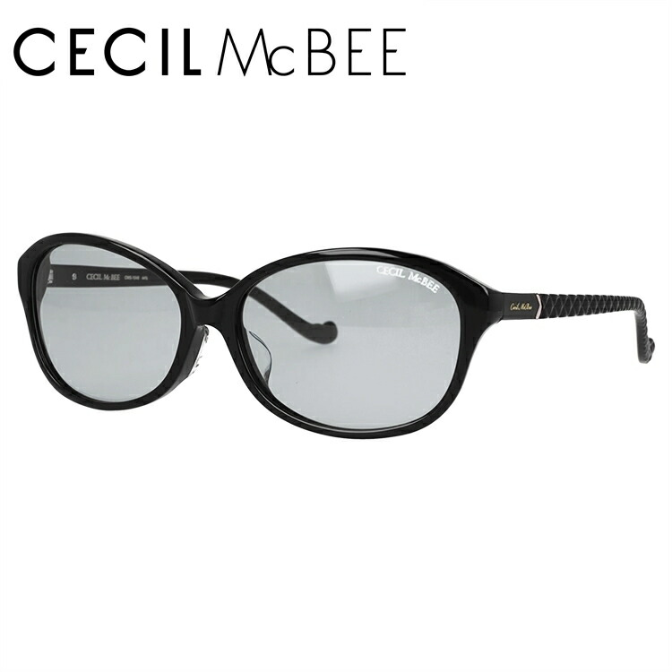 セシルマクビー サングラス アジアンフィット CECIL McBEE CMS 1048-1 59サイズ オーバル レディース