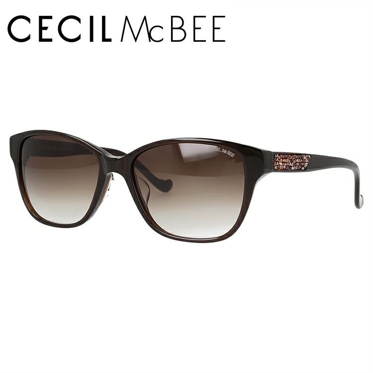 セシルマクビー サングラス アジアンフィット CECIL McBEE CMS 1044-2 55サイズ ウェリントン型 レディース 女性用 アイウェア UVカット 紫外線対策 UV対策 おしゃれ ギフト
