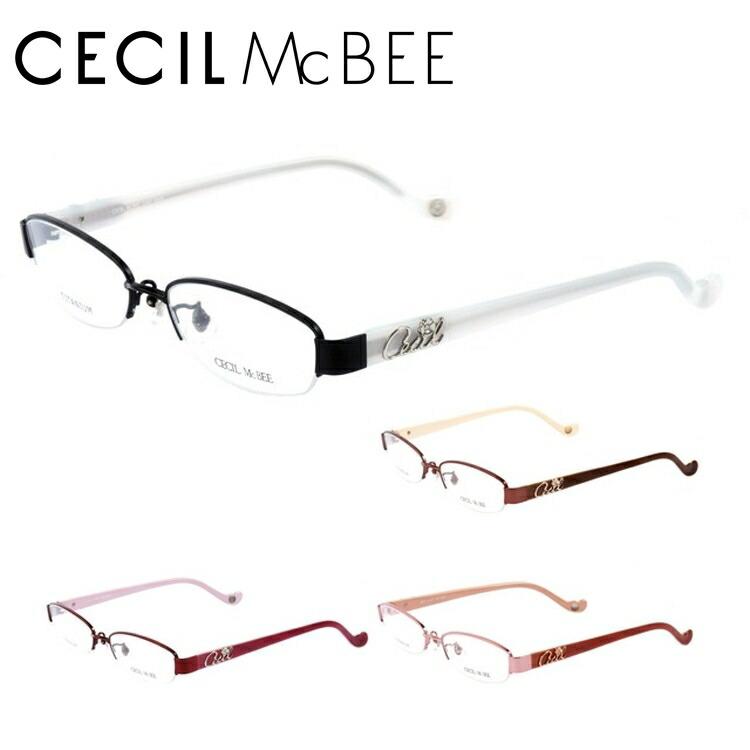 CECIL McBEE セシルマクビー 伊達メガネ 眼鏡 CMF3008-1/CMF3008-2/CMF3008-3/CMF3008-4