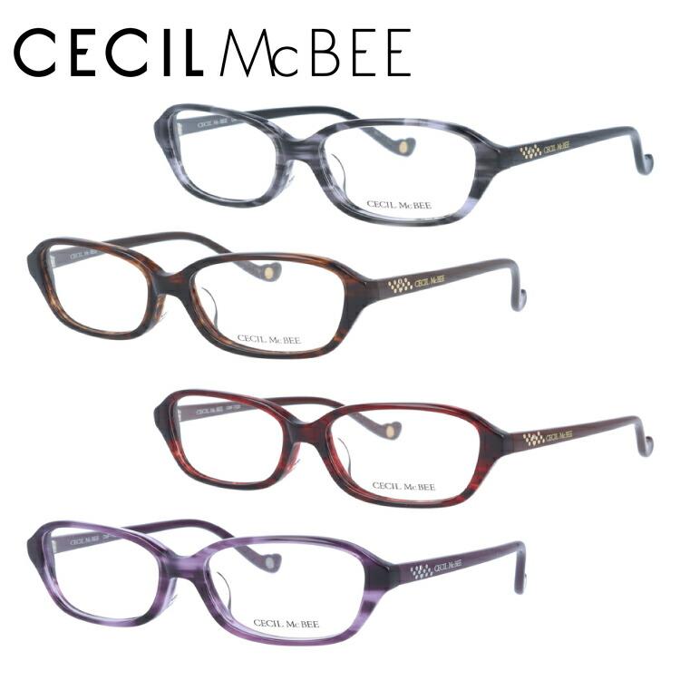 セシルマクビー 眼鏡 メガネ CECILMcBEE CMF7026-1/CMF7026-2/CMF7026-3/CMF7026-4 アジアンフィット レディース