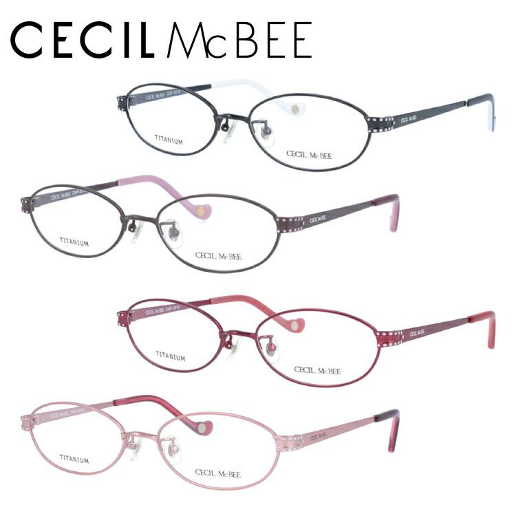 セシルマクビー 眼鏡 メガネ CECILMcBEE CMF3018-1/CMF3018-2/CMF3018-3/CMF3018-4 アジアンフィット レディース