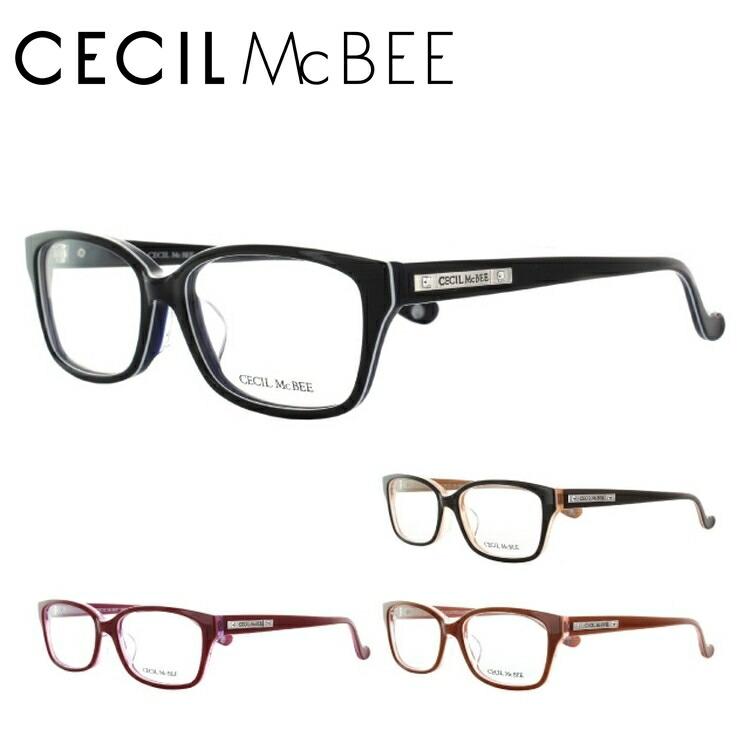 セシルマクビー 眼鏡 メガネ CECILMcBEE CMF7031-1/CMF7031-2/CMF7031-3/CMF7031-4 アジアンフィット レディース