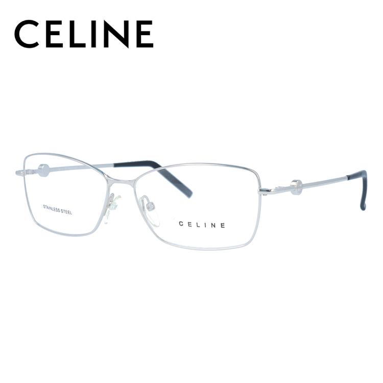 メガネ 度付き 度なし 伊達メガネ カラーレンズ 眼鏡 CELINE セリーヌ レディース VC1243 55サイズ 0579 レンズセット UVカット 紫外線 サングラス