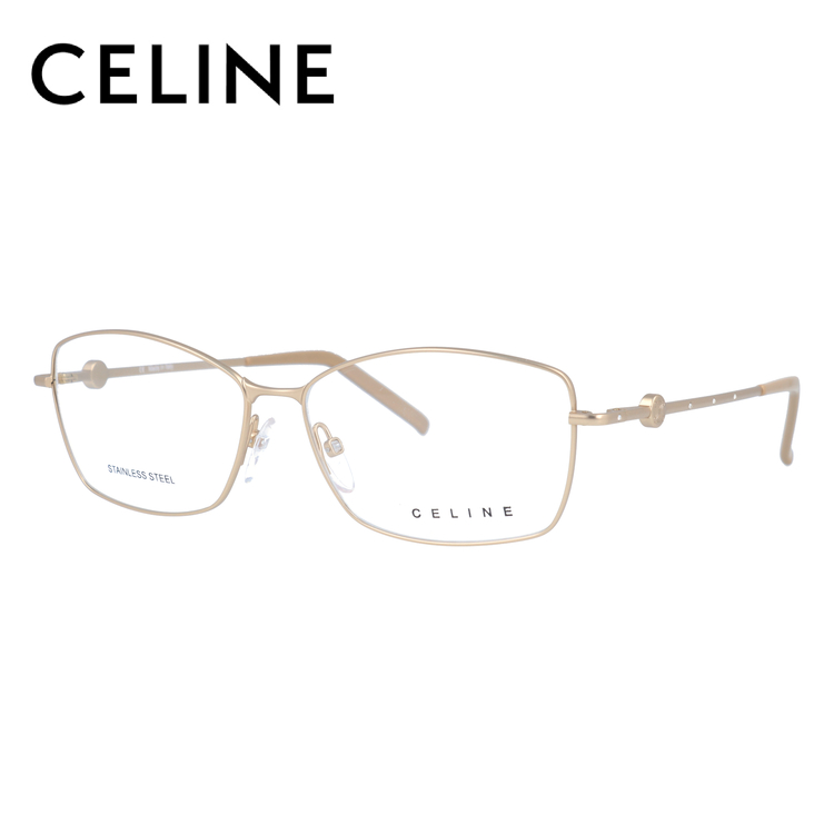 CELINE セリーヌ 伊達メガネ 眼鏡 レディース VC1243S 55サイズ 0648