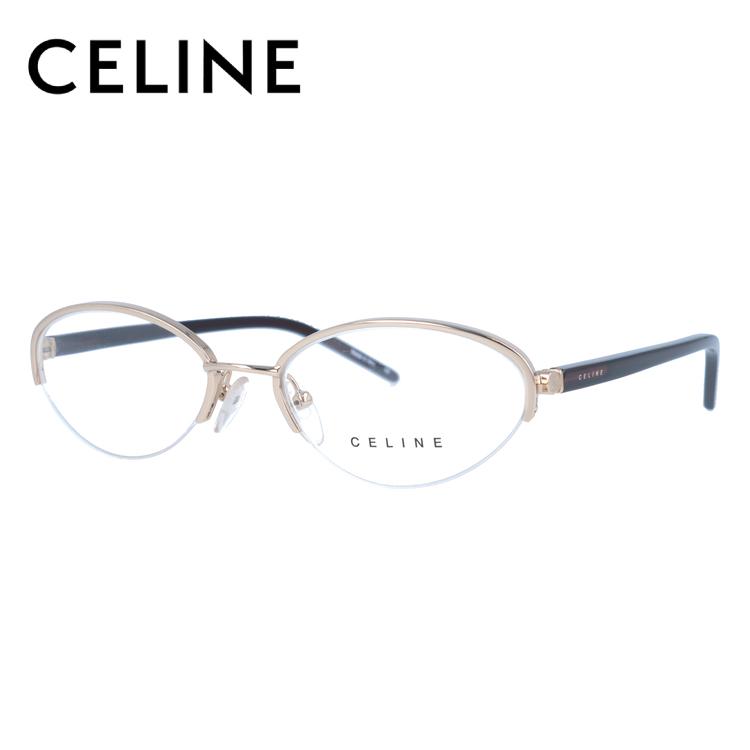 CELINE セリーヌ 伊達メガネ 眼鏡 レディース VC1252M 52サイズ 0300