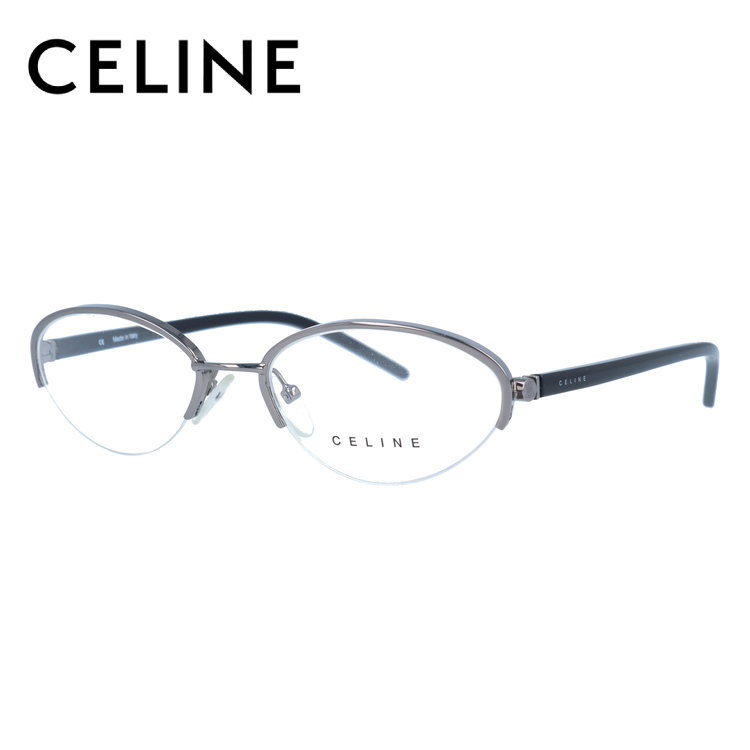 CELINE セリーヌ 伊達メガネ 眼鏡 レディース VC1252M 52サイズ 0568