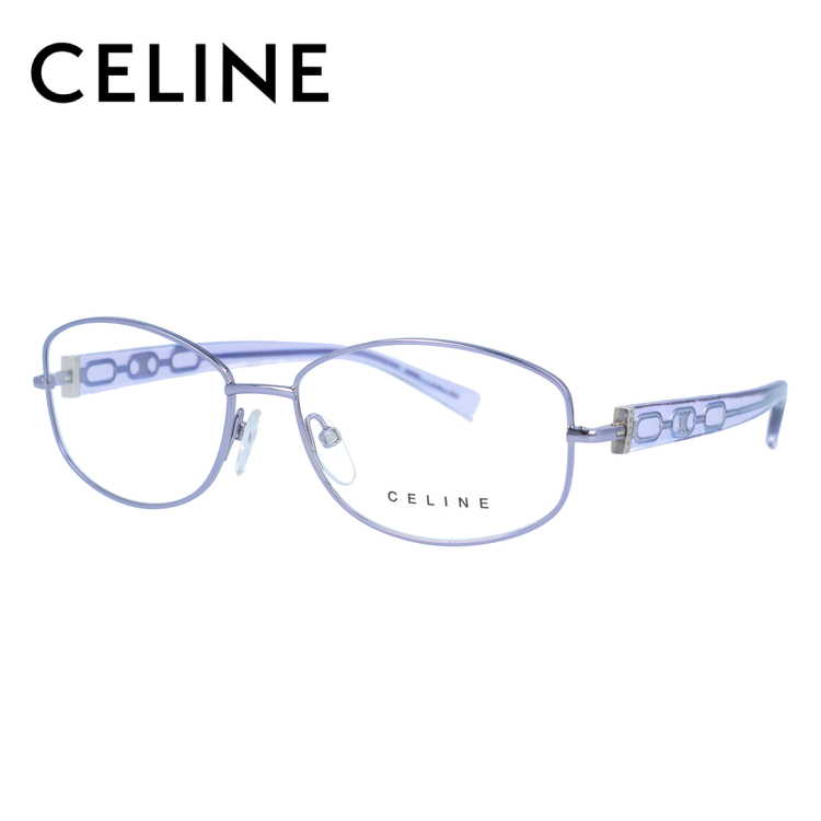 セリーヌ メガネフレーム CELINE 度付き 度なし 伊達 だて 眼鏡 レディース VC1307M 54サイズ 0S53 UVカット 紫外線
