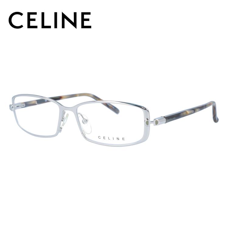 CELINE セリーヌ 伊達メガネ 眼鏡 レディース VC1362M 52サイズ 0579