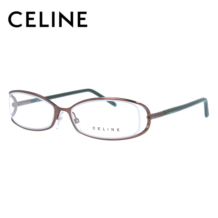 CELINE セリーヌ 伊達メガネ 眼鏡 レディース VC1409M 54サイズ 08F4
