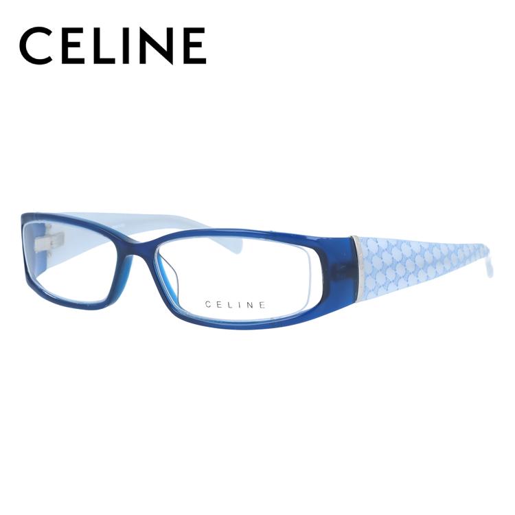 CELINE セリーヌ 伊達メガネ 眼鏡 レディース VC1613M 52サイズ 0D99