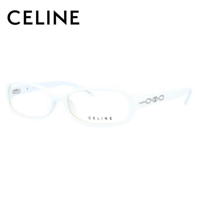 セリーヌ メガネフレーム CELINE 度付き 度なし 伊達 だて 眼鏡 レディース VC1651M 53サイズ 0847 UVカット 紫外線