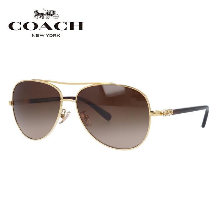 コーチ サングラス COACH HC7072B 930313 59サイズ 国内正規品 ティアドロップ レディース UVカット