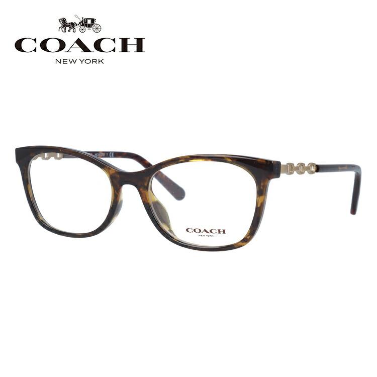 メガネ 度付き 度なし 伊達メガネ 眼鏡 コーチ ユニバーサルフィット COACH HC6127U 5120 51サイズ スクエア レディース UVカット 紫外線 【国内正規品】