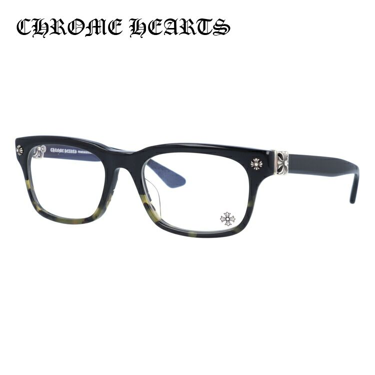 メガネ 度付き 度なし 伊達メガネ 眼鏡 クロムハーツ レギュラーフィット CHROME HEARTS VAGILANTE BMZ 54サイズ スクエア ユニセックス メンズ レディース UVカット 紫外線