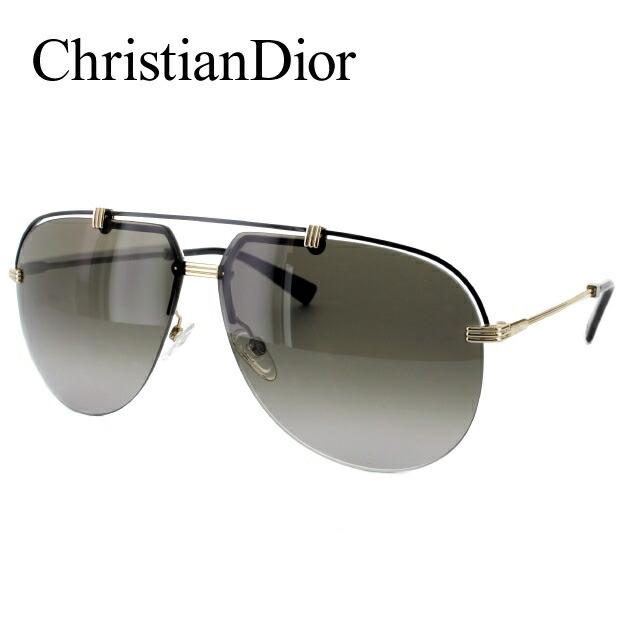 クリスチャン・ディオール Christian Dior サングラス DIOR CROISETTE4 DYD/HA 62 ゴールド/ブラック(ノーズパッド調節可能)【メンズ】 レディース UVカット