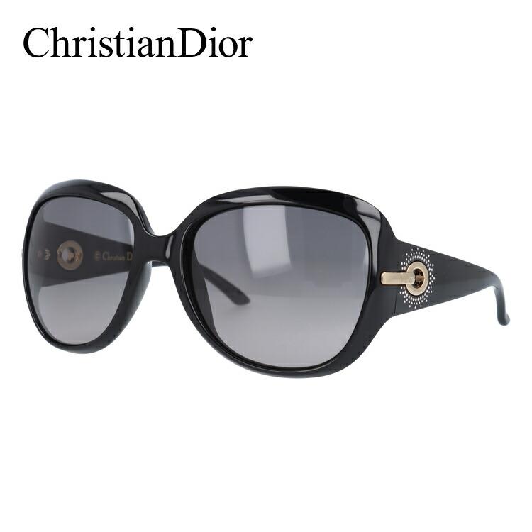 クリスチャン・ディオール Christian Dior サングラス DIOR PRECIEUSE D28/EU 57 シャイニーブラック UVカット【レディース】