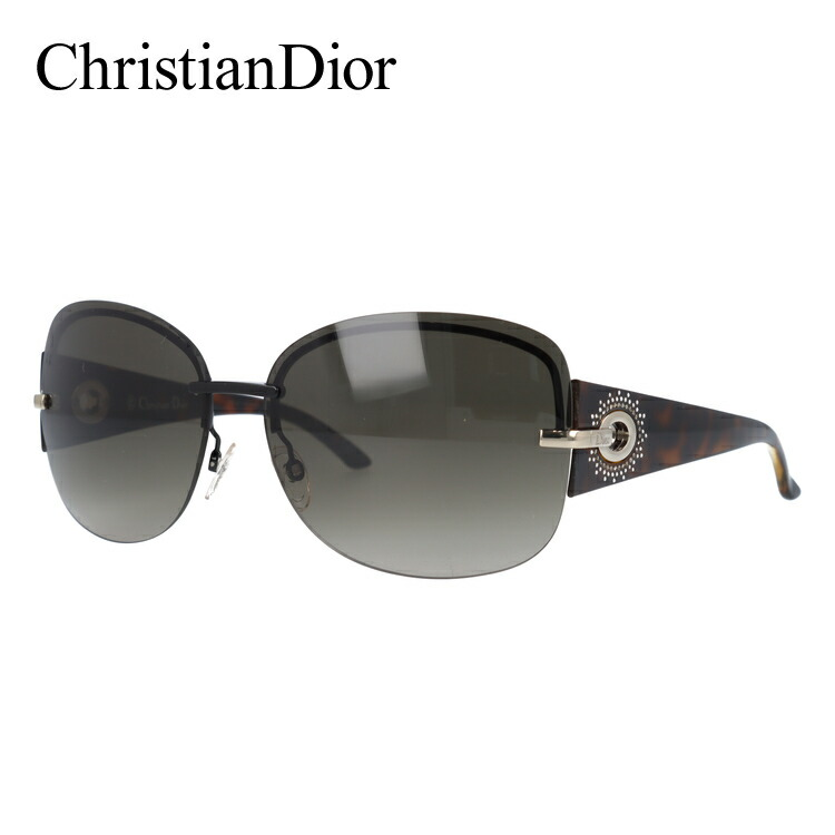 クリスチャン・ディオール Christian Dior サングラス DIOR PRECIEUSEF KGK/HA 64 ブラック/ハバナ(ノーズパッド調節可能)【レディース】 UVカット