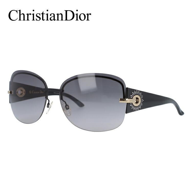 クリスチャン・ディオール Christian Dior サングラス DIOR PRECIEUSEF BKS/EU 64 ブラック(ノーズパッド調節可能) レディース UVカット 紫外線
