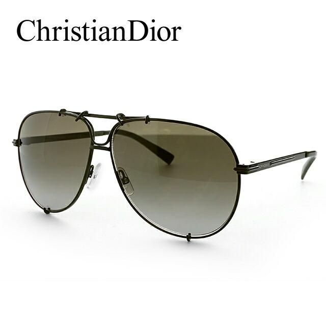 【訳あり】 クリスチャン・ディオール Christian Dior サングラス ディオール オム DIOR 0175S 5SI/HA 61 カーキ DIOR HOMME【メンズ】 UVカット