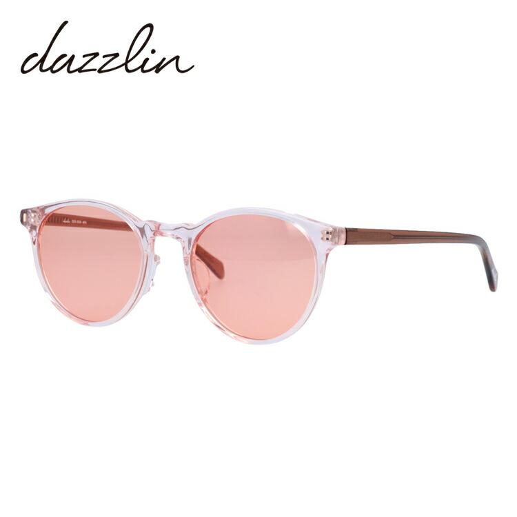 ダズリン サングラス アジアンフィット dazzlin DZS 3535-1 50サイズ ボストン型 レディース 女性用 アイウェア UVカット 紫外線対策 UV対策 おしゃれ ギフト